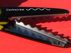 Corkscrew edge