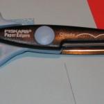 Scrapbooking scissors